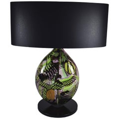 Heart Green Table Lamp