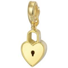 Heart Lock Pendant/Charm