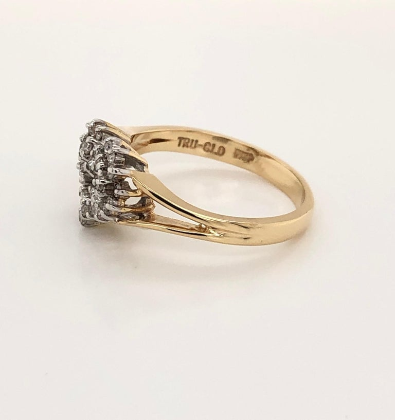 Heart of Gold with Diamond Ring For Sale 3