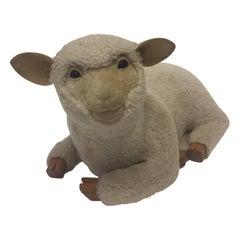 Heart Warming Danish Lamb Footstool