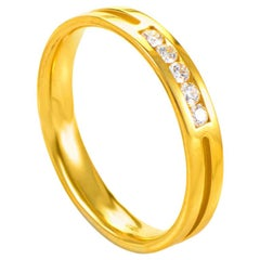 Hearts On Fire 18 Karat Yellow Gold Diamond Band HGRST500178Y