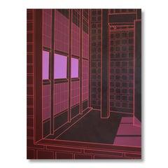 Maison de Verre (Dark Red), 2019