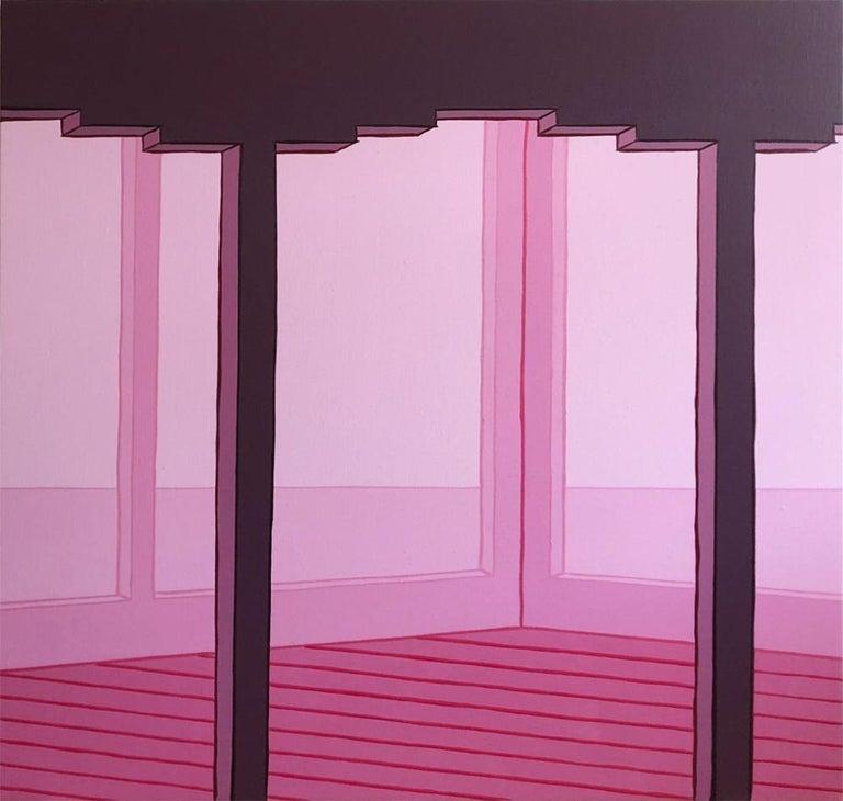 Villa Lautner - Painting by Heath West