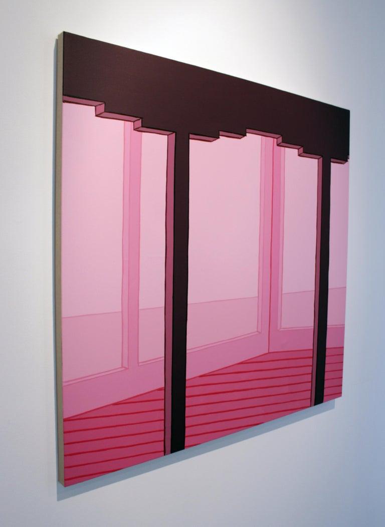 Villa Lautner - Purple Interior Painting by Heath West