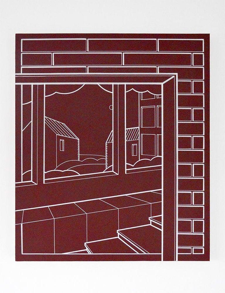Heath West Still-Life Painting - Ville de Fourier,