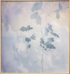 Daybreak (The Healer) - Lavender Nature Painting, Atmospheric, Kudzu, Purple