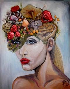 Wonderland, Painting, Oil on Canvas