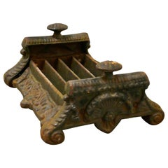 Heavy Cast Iron Victorian Boot Scraper