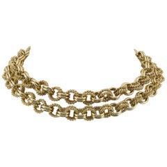 Heavy Gold Tiffany & Co. Necklace
