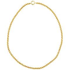 Heavy Handmade Antique Gold Chain