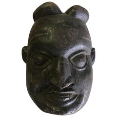 Heavy Oceanic 'Papua New Guinea' or African Carved Wood Mask