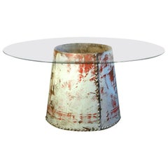 Heavy Riveted Industrial Table Base