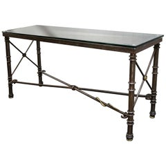 Heavy Steel Console Sofa Table