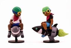 Hebru Brantley Flyboy Set of 2 (Hebru Brantley art toys)