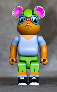Hebru Brantley Lil Mama 400% Bearbrick (Hebru Brantley BE@RBRICK)
