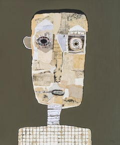Hector Frank, Cuban Neutral Figurative Portrait