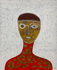 Hector Frank, Untitled Cuban Figurative Portrait