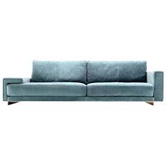 Hector Mix Blue Sofa by Castello Lagravinese Studio