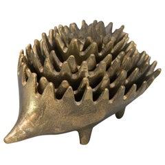 Hedgehog Ashtray by Walter Bosse for Hertha Baller