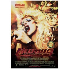 Hedwig and the Angry Inch 2001 U.S. One Sheet Film Poster