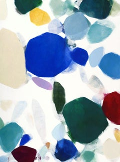 Coastline Kaleidoscope I, Painting, Acrylic on Canvas