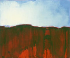 Red Earth, Abstract Oil Painting