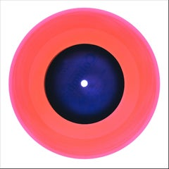 B Side Vinyl Collection, A Hot Jazz Classic (Coral) - Pop Art Color Photogrpahy