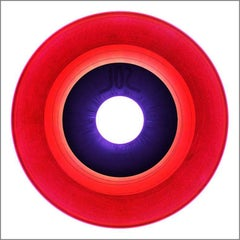 B Side Vinyl Collection, B Side (Cerise) - Conceptual Pop Art Color Photogrpahy