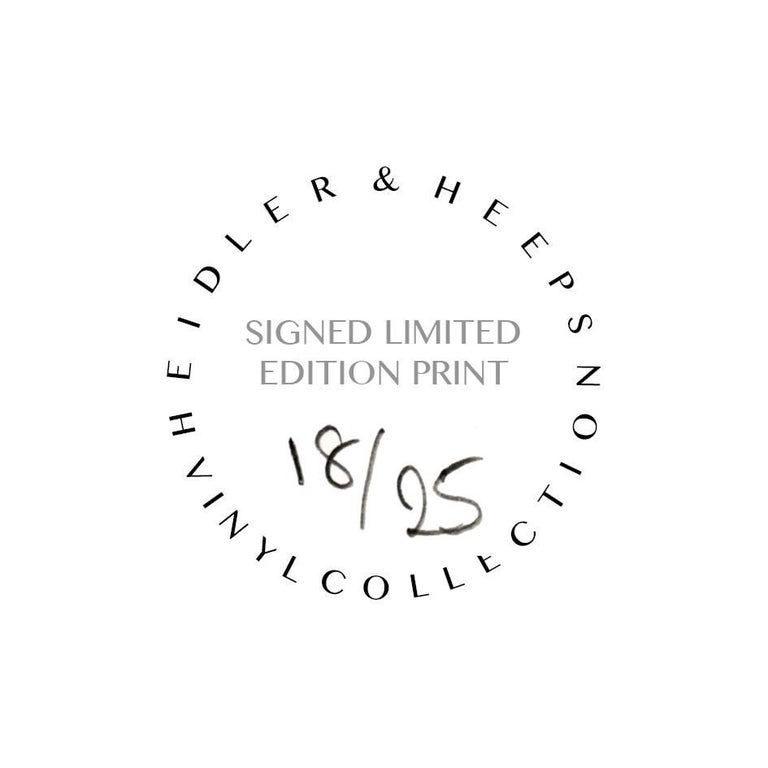 B Side Vinyl Collection, Cobolt Blue Recording - Pop Art Color Photography For Sale 3