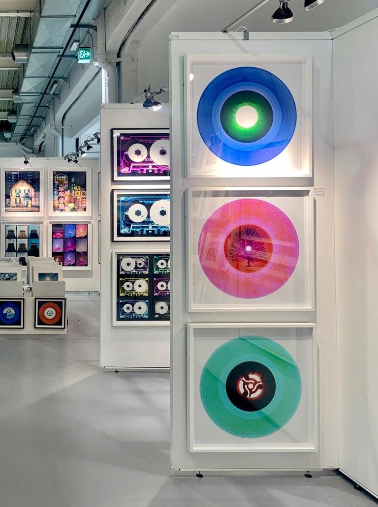B Side Vinyl Collection, Cobolt Blue Recording - Pop Art Color Photography For Sale 6