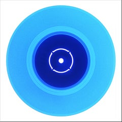 B Side Vinyl Collection, Double B Side (Blue) - Pop Art Color Photogrpahy