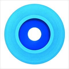 B Side Vinyl Collection, Light Blue Recording - Pop Art Color Photogrpahy