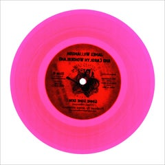 B Side Vinyl Collection, Made in the USA (Pink) - Pop Art Color Photogrpahy