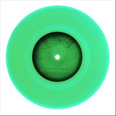 B Side Vinyl Collection, Side B (Green) - Contemporary Pop Art Color Photogrpahy
