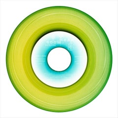 B Side Vinyl Collection, Side One Lime - Contemporary Pop Art Color Photogrpahy