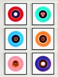 B Side Vinyl Collection - Six Piece Set - Pop art colour photography