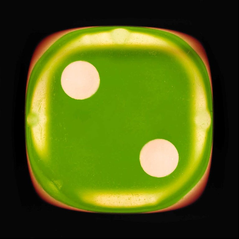Dice Series - One, Two, Three - Three Contemporary pop art color photography - Photograph by Heidler & Heeps