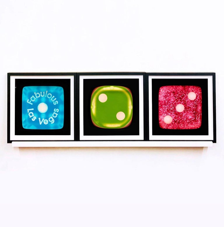 Dice Series - One, Two, Three - Three Contemporary pop art color photography For Sale 3