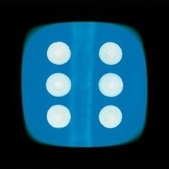Dice Series, Blue Six - Conceptual Color Photography