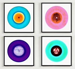 Four B Side Vinyl Collection - Pop art colour photography