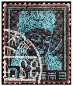 Stamp Collection, Goddess Kannon (Buddhist Goddess of Mercy) - Asian art