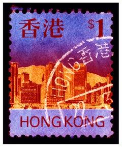 Stamp Collection, HK$1 - Pop Art Conceptual Color Photography