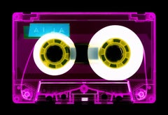 Tape Collection, AILA (Pink) - Contemporary Pop Art Color Photography