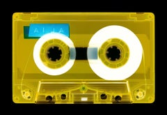 Tape Collection, AILA (Yellow) - Contemporary Pop Art Color Photography