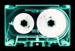 Tape Collection - Mint Tinted Cassette - Conceptual Color Music Art