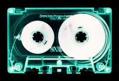 Tape Collection, Mint Tinted Cassette - Contemporary Pop Art Color Photography