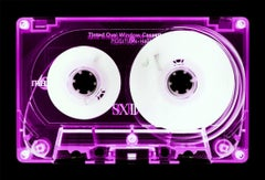 Tape Collection, Pink Tinted Cassette - Contemporary Pop Art Color Photography
