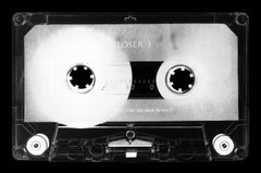 Tape Collection, Product of the 80's - Black and White Music Photography
