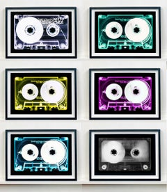 Tape Collection Six Individual Artworks - Contemporary Pop Art Color Photography