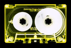 Tape Collection, Yellow Tinted Cassette - Contemporary Pop Art Color Photography